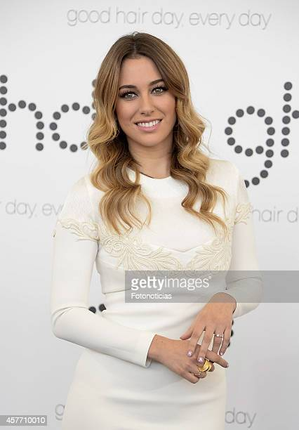 Actress Blanca Suarez presented as GDH new branch ambassador at COAM on October 23 2014 in Madrid Spain