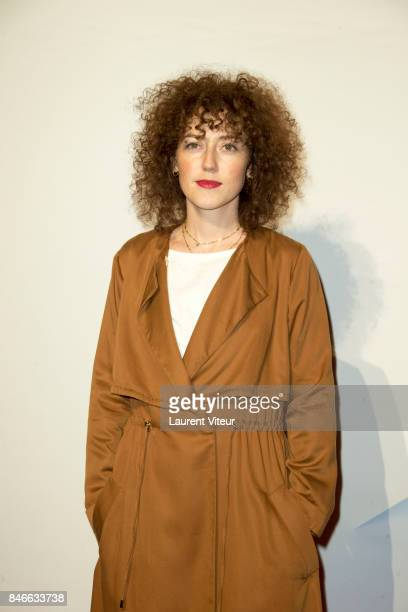 Actress Blandine Bellavoir attends 19th Festival of TV Fiction Opening Ceremony on September 13 2017 in La Rochelle France