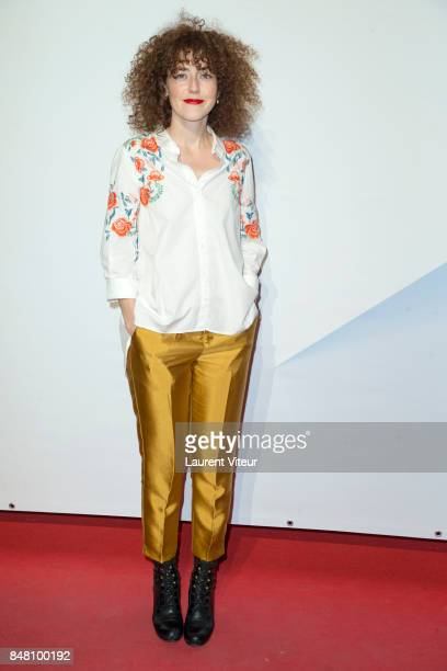 Actress Blandine Bellavoir attends Closing Ceremony during 19th Festival of TV Fiction at La Rochelle on September 16 2017 in La Rochelle France