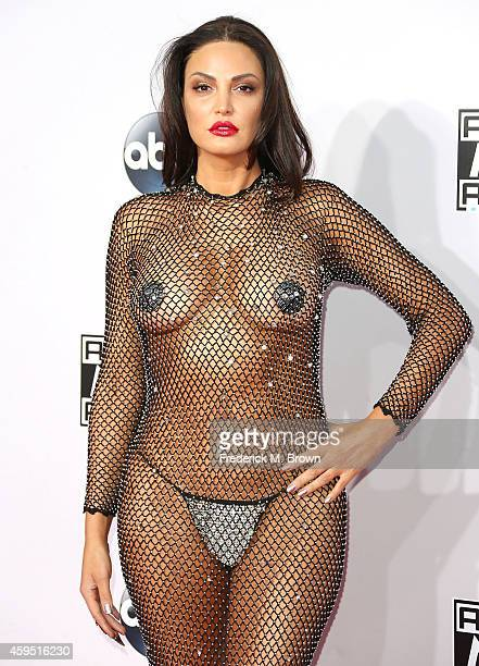 Actress Bleona Qereti attends the 42nd Annual American Music Awards at the Nokia Theatre LA Live on November 23 2014 in Los Angeles California