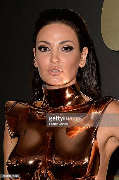 Actress Bleona Qereti attends The 57th Annual GRAMMY Awards at the STAPLES Center on February 8 2015 in Los Angeles California