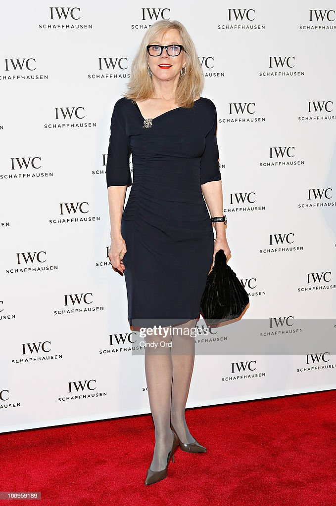Actress Blythe Danner attends the IWC and Tribeca Film Festival 'For the Love of Cinema' celebration at Urban Zen on April 18, 2013 in New York City.