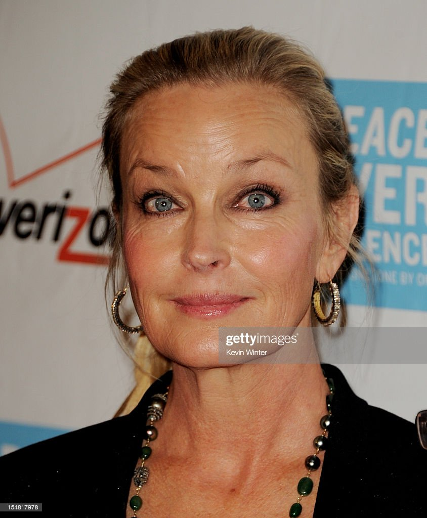 Actress Bo Derek arrives at the 41st Annual Peace Over Violence Humanitarian Awards at the Beverly Hills Hotel on October 26, 2012 in Beverly Hills, California.