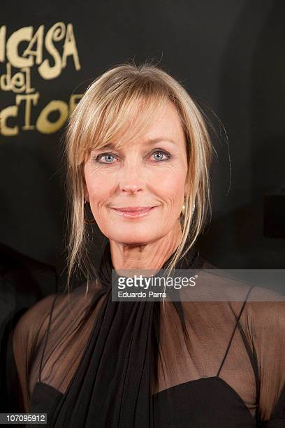 Actress Bo Derek attends 'Moet Chandon Charity Auction' at Casino de Madrid on November 23 2010 in Madrid Spain