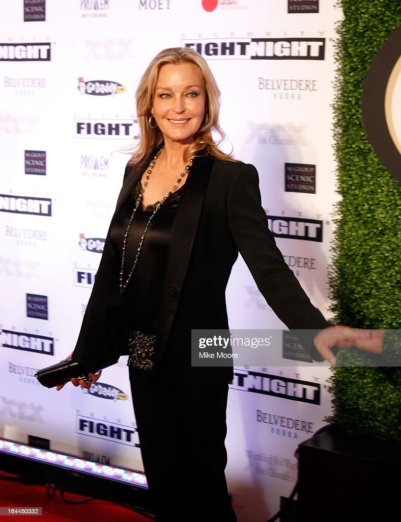 Actress Bo Derek attends Muhammad Ali's Celebrity Fight Night XIX at JW Marriott Desert Ridge Resort & Spa on March 23, 2013 in Phoenix, Arizona.