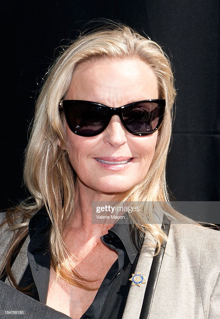 Actress Bo Derek attends the Breeders' Cup Press Conference at Nokia Plaza L.A. LIVE on October 25, 2012 in Los Angeles, California.