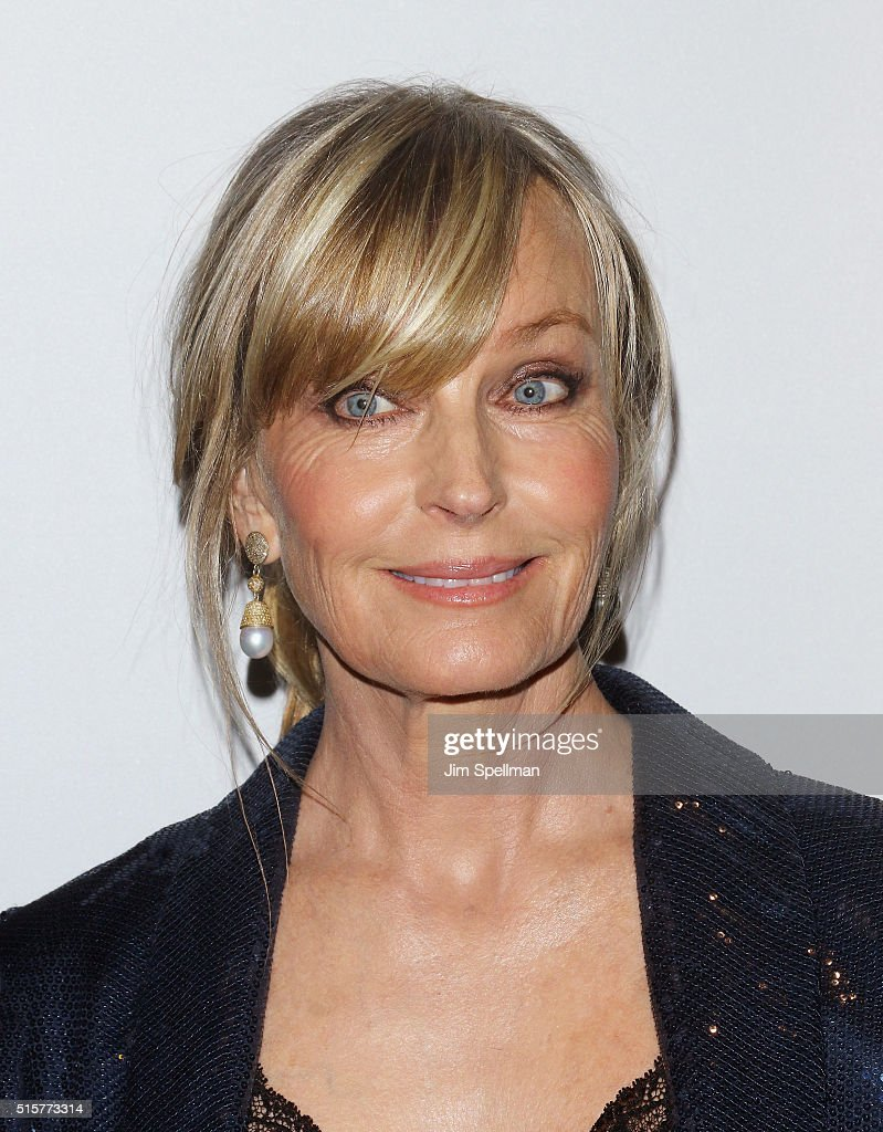 Actress Bo Derek attends the 'My Big Fat Greek Wedding 2' New York premiere at AMC Loews Lincoln Square 13 theater on March 15, 2016 in New York City.