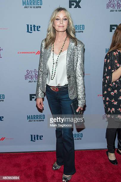 Actress Bo Derek attends the 'SexDrugsRockRoll' And 'Married' New York Screenings at SVA Theater on July 14 2015 in New York City