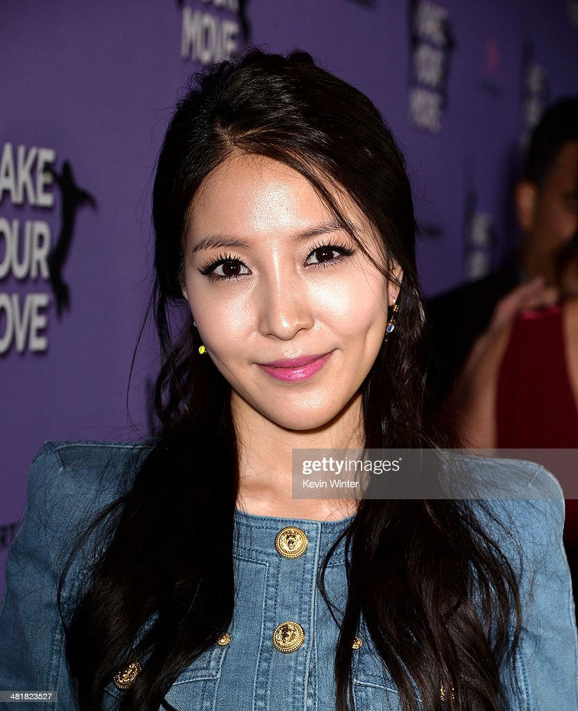Actress BoA arrives at a screening of 'Make Your Move' at The Pacific Theatre at The Grove on March 31, 2014 in Los Angeles, California.