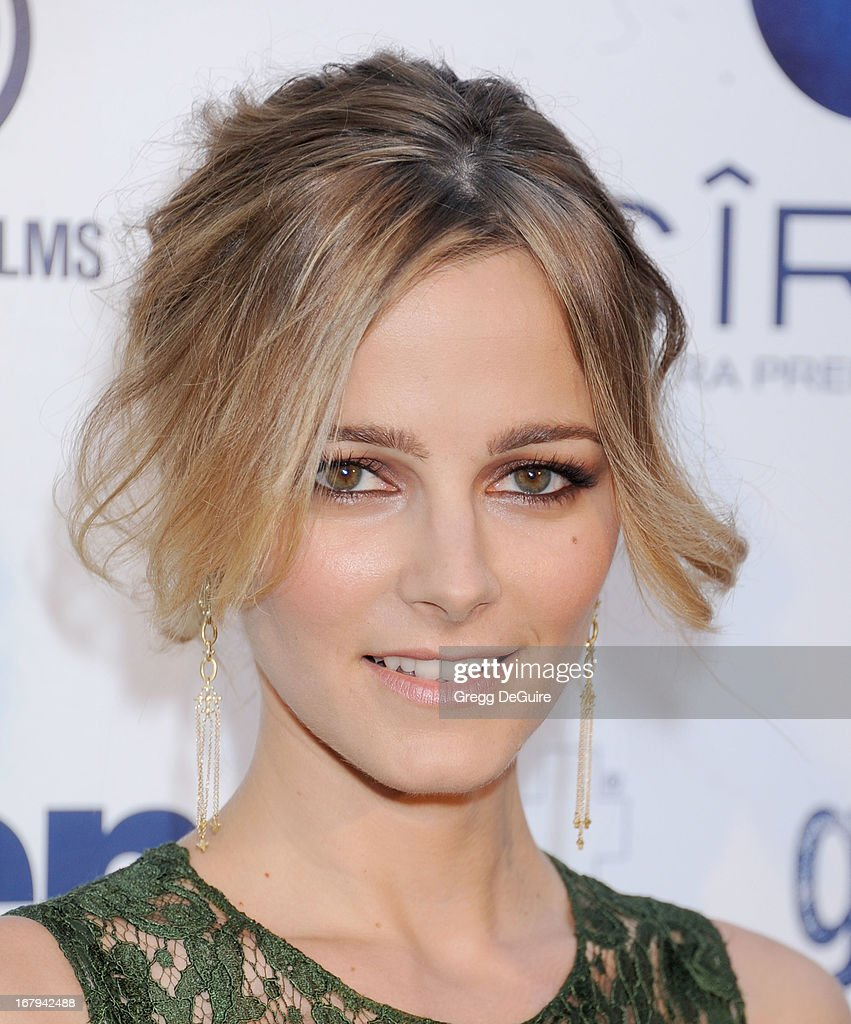 Actress <a gi-track='captionPersonalityLinkClicked' href=/galleries/search?phrase=Bojana+Novakovic&family=editorial&specificpeople=2748501 ng-click='$event.stopPropagation()'>Bojana Novakovic</a> arrives at the Los Angeles premiere of 'Generation UM' at ArcLight Hollywood on May 2, 2013 in Hollywood, California.