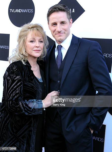 Actress Bonnie Bedelia and actor Sam Jaeger attend the 2015 TV LAND Awards at Saban Theatre on April 11 2015 in Beverly Hills California
