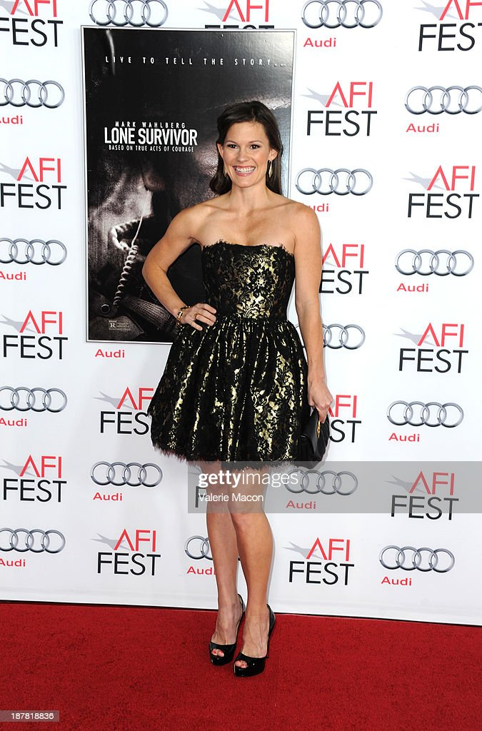 Actress Bonnie Bentley attends the premiere for 'Lone Survivor' during AFI FEST 2013 presented by Audi at TCL Chinese Theatre on November 12, 2013 in Hollywood, California.