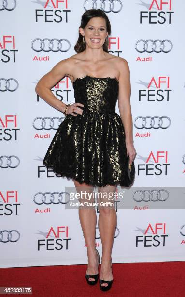 Actress Bonnie Bentley attends the screening of 'Lone Survivor' at AFI FEST 2013 at the TCL Chinese Theatre on November 12 2013 in Hollywood...