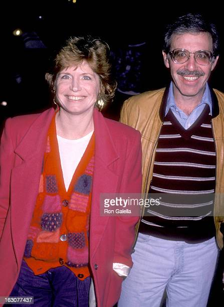 Actress Bonnie Franklin and husband Marvin Minoff attend the Political Fundraiser for Senator Christopher Dodd on December 5 1985 at Bayshore Bowling...