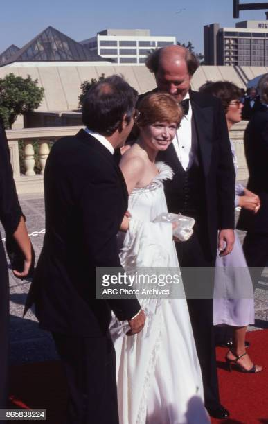 Actress Bonnie Franklin arrives at The 31st Annual Primetime Emmy Awards on September 9 1979 at the Pasadena Civic Auditorium California
