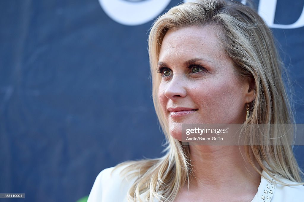 Actress Bonnie Somerville arrives at CBS CW And Showtime 2015 Summer TCA Party at Pacific Design Center on August 10 2015 in West Hollywood California