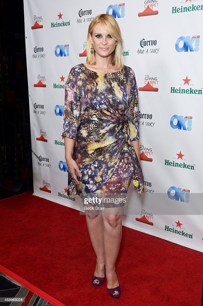 Actress <a gi-track='captionPersonalityLinkClicked' href=/galleries/search?phrase=Bonnie+Somerville&family=editorial&specificpeople=239193 ng-click='$event.stopPropagation()'>Bonnie Somerville</a> arrives at OK! TV Emmy pre-awards party honoring the Emmy nominees and presenters at Sofitel Hotel on August 21, 2014 in Los Angeles, California.