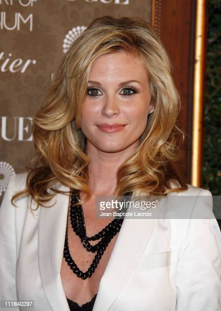 Actress Bonnie Somerville arrives at the Art of Elysium 2nd Annual Heaven Gala held at Vibiana on January 10 2009 in Los Angeles California