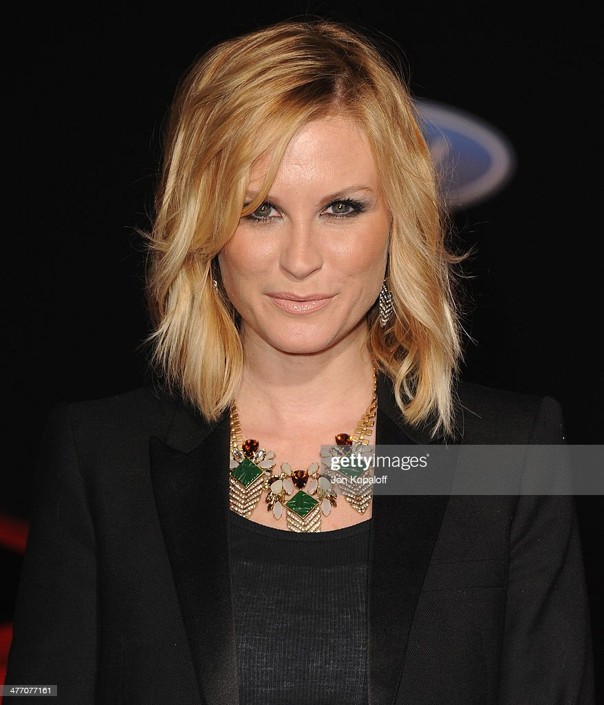 Actress Bonnie Somerville arrives at the Los Angeles Premiere 'Need For Speed' at TCL Chinese Theatre on March 6, 2014 in Hollywood, California.