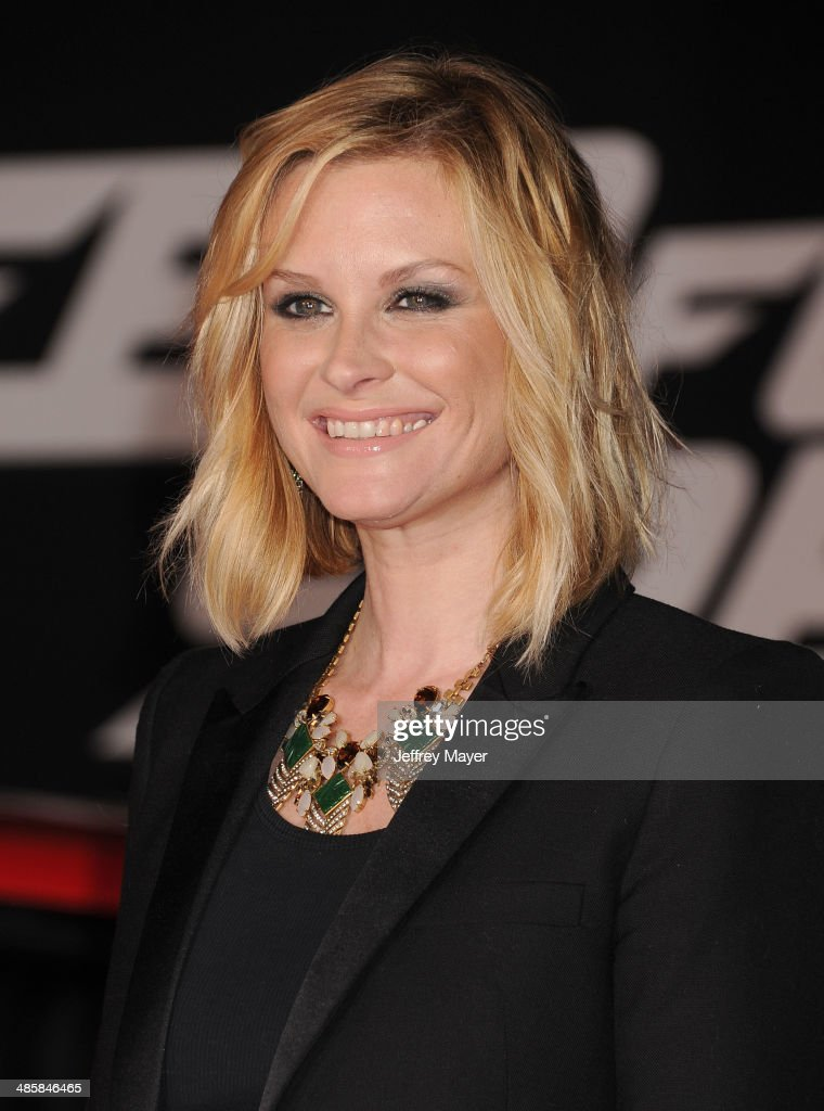 Actress Bonnie Somerville arrives at the Los Angeles premiere of 'Need For Speed' at TCL Chinese Theatre on March 6 2014 in Hollywood California