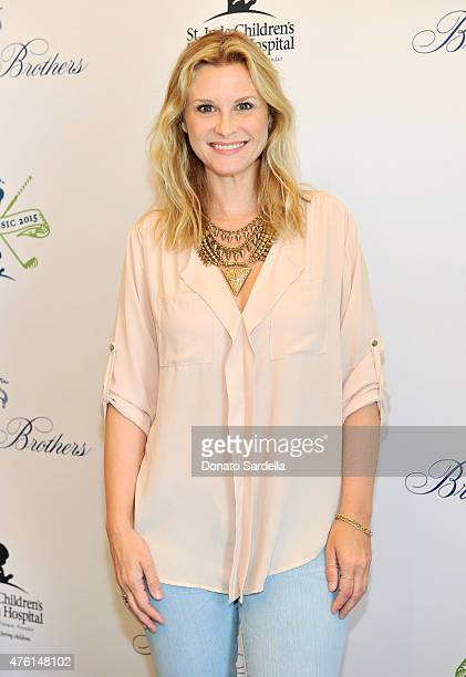 Actress Bonnie Somerville attends Brooks Brothers MINI CLASSIC Golf Tournament to benefit St Jude Children's Research Hospital at Brooks Brothers...