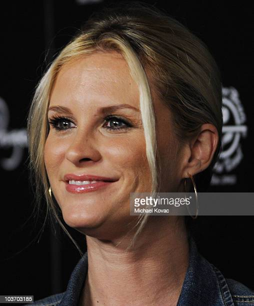 Actress Bonnie Somerville attends The Art of Elysium's 2nd Annual Genesis Awards at Milk Studios on August 28 2010 in Hollywood California