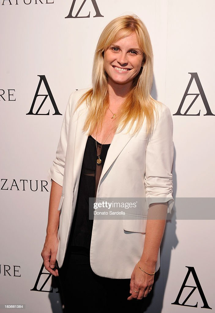 Actress <a gi-track='captionPersonalityLinkClicked' href=/galleries/search?phrase=Bonnie+Somerville&family=editorial&specificpeople=239193 ng-click='$event.stopPropagation()'>Bonnie Somerville</a> attends The Black Diamond Affair with A Z A T U R E at Sunset Tower on October 8, 2013 in West Hollywood, California.