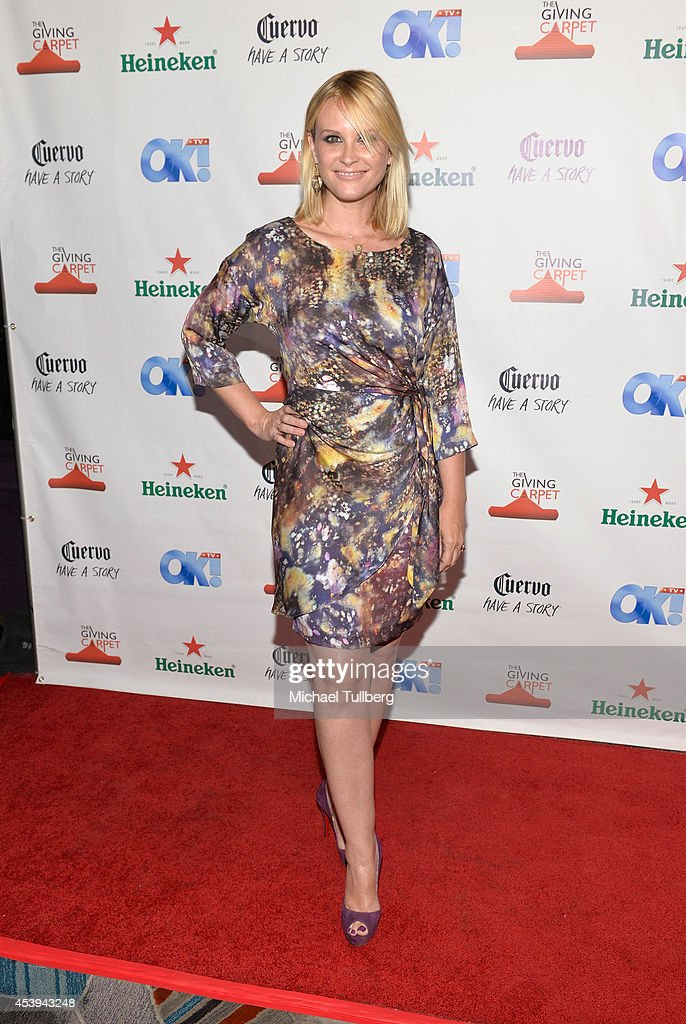 Actress <a gi-track='captionPersonalityLinkClicked' href=/galleries/search?phrase=Bonnie+Somerville&family=editorial&specificpeople=239193 ng-click='$event.stopPropagation()'>Bonnie Somerville</a> attends the OK! TV Awards Party at Sofitel Hotel on August 21, 2014 in Los Angeles, California.