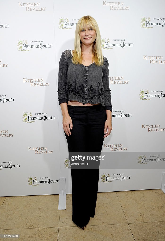 Actress Bonnie Somerville celebrates the release of Ali Larter's new cookbook 'Kitchen Revelry' with Perrier-Jouet at Sunset Tower on August 27, 2013 in West Hollywood, California.