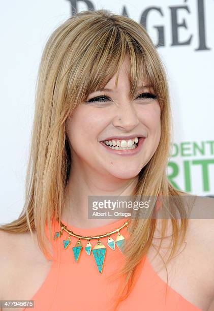 Actress Bonnie Sturdivant arrives for the 2014 Film Independent Spirit Awards held at the beach on March 1 2014 in Santa Monica California