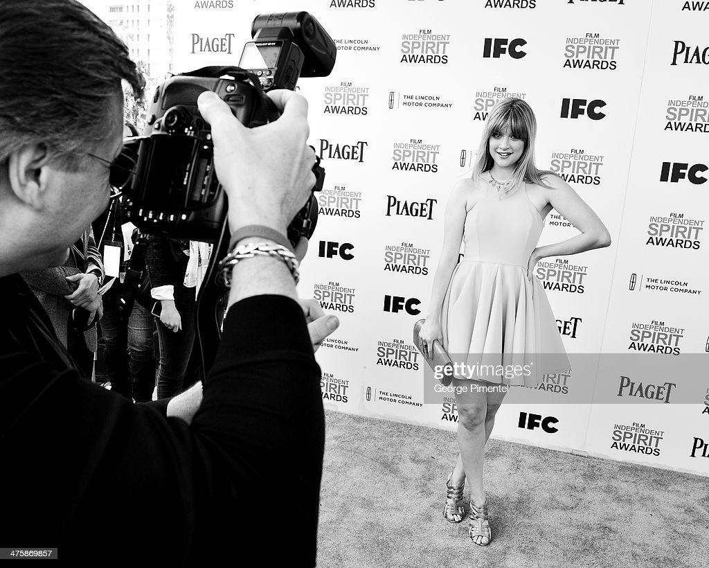 Actress Bonnie Sturdivant attends the 2014 Film Independent Spirit Awards at Santa Monica Beach on March 1, 2014 in Santa Monica, California.