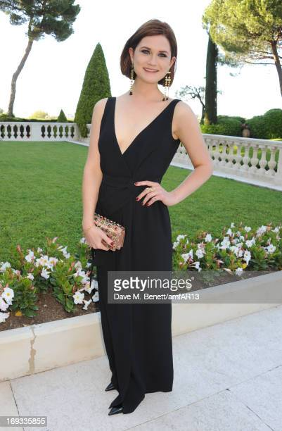 Actress Bonnie Wright attends amfAR's 20th Annual Cinema Against AIDS during The 66th Annual Cannes Film Festival at Hotel du CapEdenRoc on May 23...