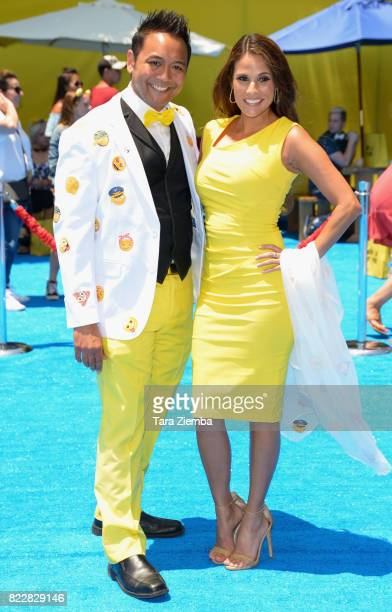 Actress BonnieJill Laflin arrives at the Premiere Of Columbia Pictures And Sony Pictures Animation's 'The Emoji Movie' at Regency Village Theatre on...