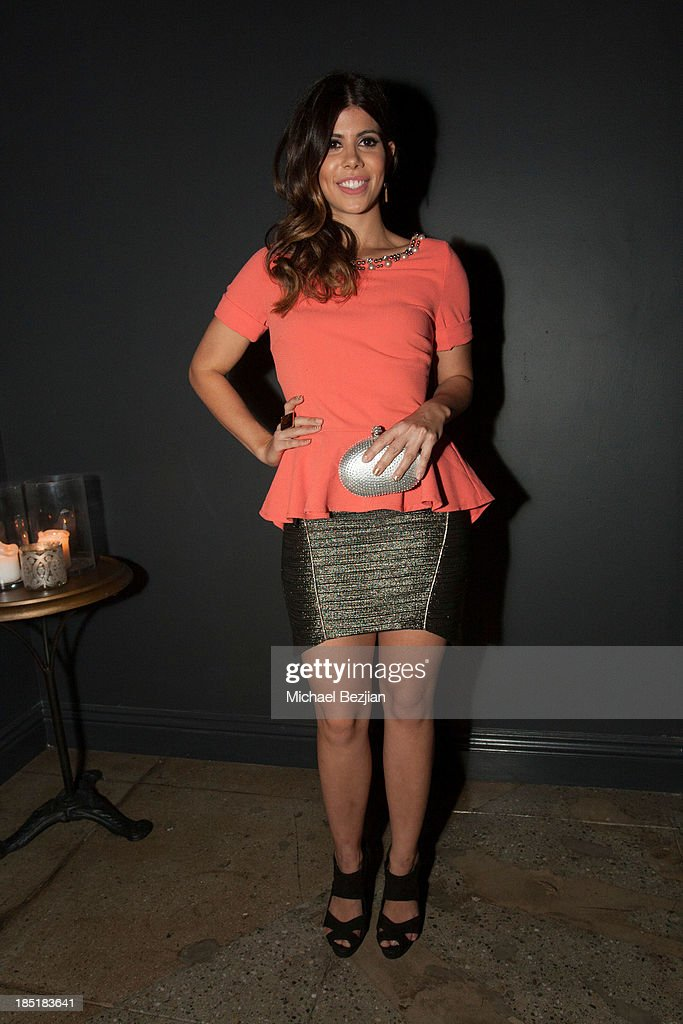 Actress Branca Ferrazo attends Songs Of Hope Event Benefiting The Somaly Mam Foundation on October 17, 2013 in Hollywood, California.