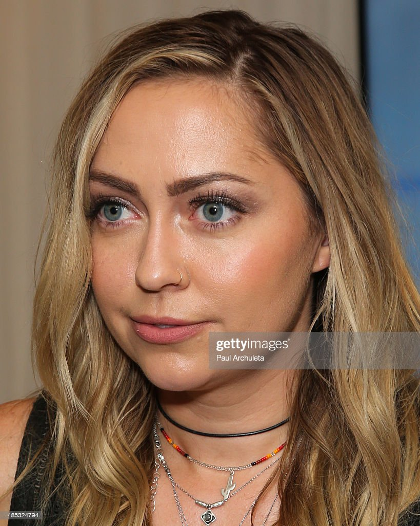 Actress Brandi Cyrus attends Sabo Skirt's 2015 PreVMA Party at SkyBar at the Mondrian Los Angeles on August 26 2015 in West Hollywood California