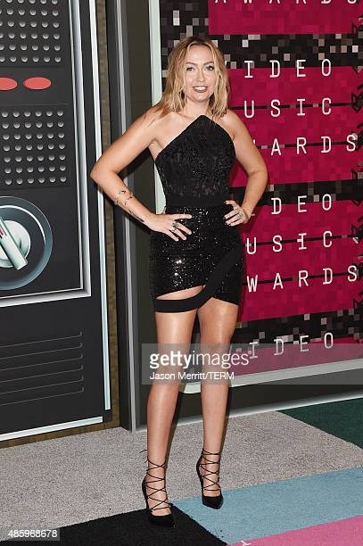 Actress Brandi Cyrus attends the 2015 MTV Video Music Awards at Microsoft Theater on August 30 2015 in Los Angeles California