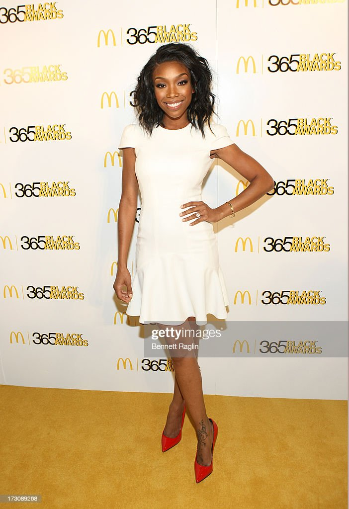 Actress Brandy attends the 2013 365 Black Awards at the Ernest N. Morial Convention Center on July 6, 2013 in New Orleans, Louisiana.