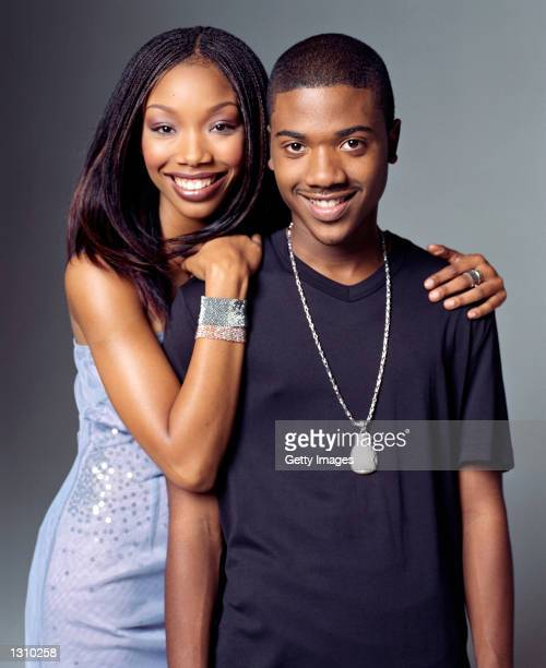 Actress Brandy stars as Moesha Mitchell and her reallife brother Ray J stars as Dorian in the United Paramount Network''s halfhour comedy 'Moesha'