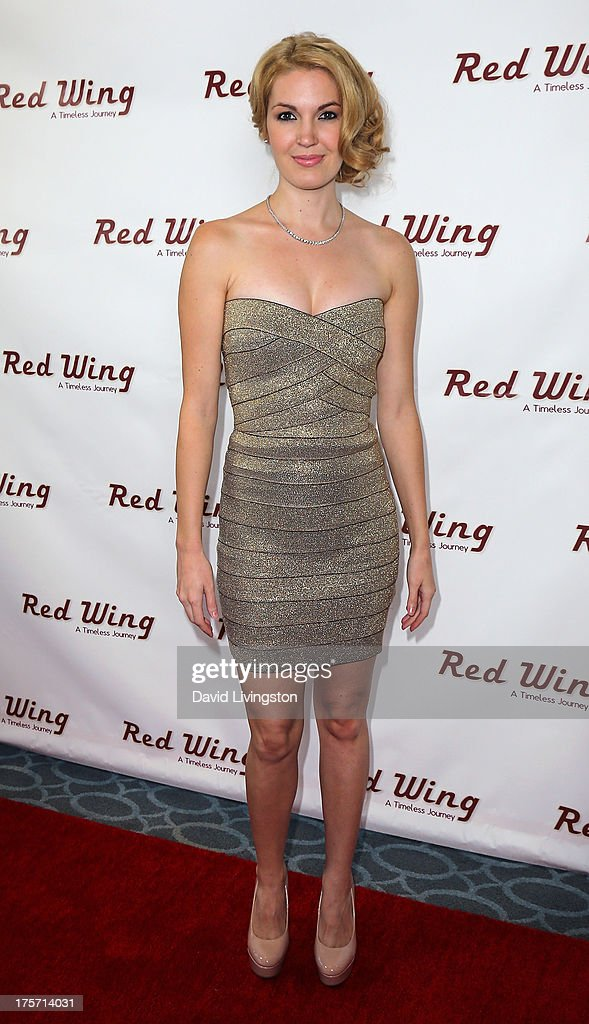 Actress Breann Johnson attends a screening of Integrity Film Production's 'Red Wing' at Harmony Gold Theatre on August 6, 2013 in Los Angeles, California.