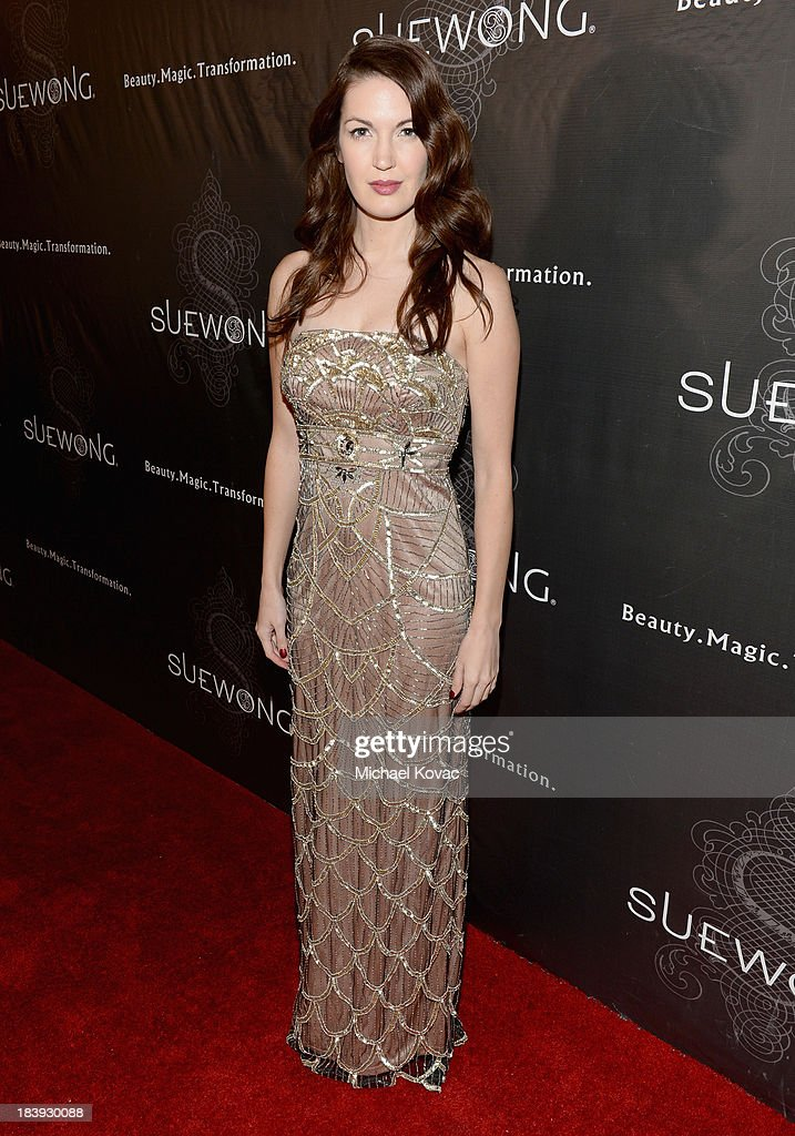Actress Breann Johnson attends Sue Wong 'Jazz Babies' Spring 2014 Runway Show on October 9, 2013 in Los Angeles, California.
