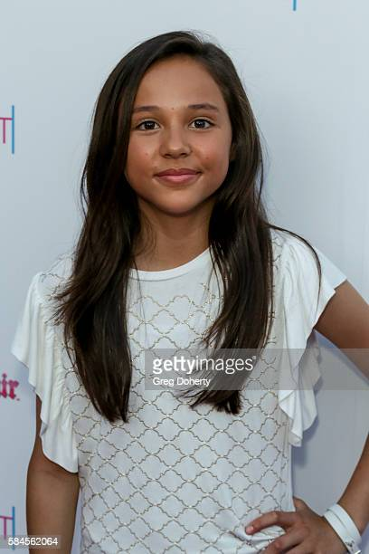 Actress Breanna Yde arrives at the Tiger Beat's PreParty Around FOX's Teen Choice Awards at HYDE Sunset Kitchen Cocktails on July 28 2016 in West...