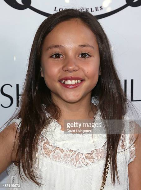 Actress Breanna Yde attends Ryan Newman's Glitz and Glam Sweet 16 birthday party at the Emerson Theater on April 27 2014 in Hollywood California