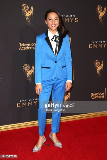 Actress Breanna Yde attends the 2017 Creative Arts Emmy Awards at Microsoft Theater on September 10 2017 in Los Angeles California
