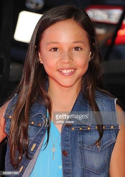 Actress Breanna Yde attends the premiere of 'Earth to Echo' during the 2014 Los Angeles Film Festival at Regal Cinemas LA Live on June 14 2014 in Los...