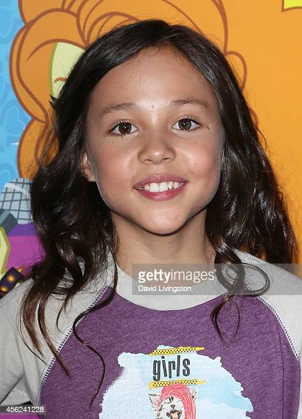 Actress Breanna Yde attends the premiere of Hasbro Studios' 'My Little Pony Equestria Girls Rainbow Rocks' at the TCL Chinese 6 Theatres on September...