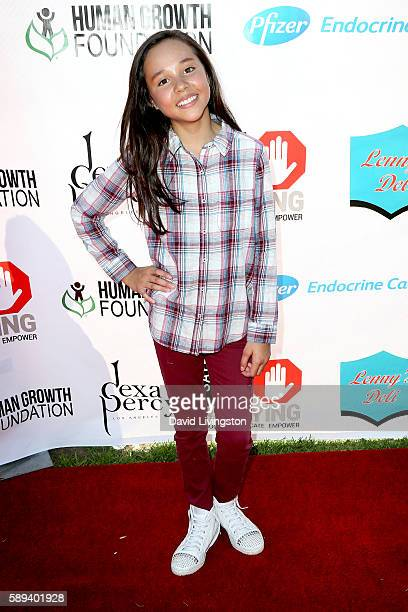 Actress Breanna Yde attends the Say NO Bullying Festival at Griffith Park on August 13 2016 in Los Angeles California