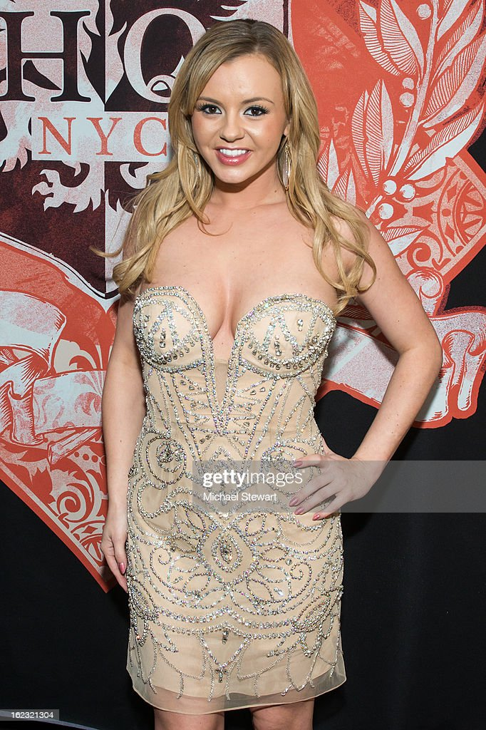 Actress Bree Olson attends the birthday celebration of Big John at Headquarters on February 21 2013 in New York City