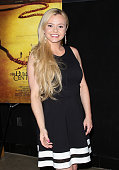 Actress Bree Olson attends the premiere of 'The Human Centepede 3 ' at the TCL Chinese 6 Theatres on May 18 2015 in Hollywood California