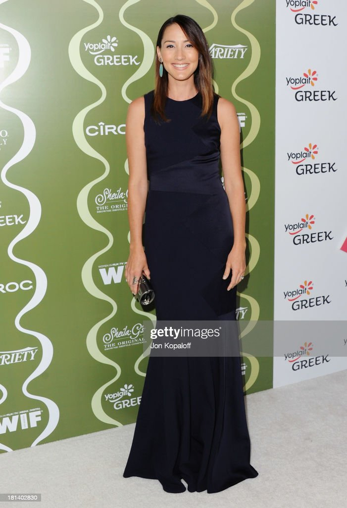 Actress <a gi-track='captionPersonalityLinkClicked' href=/galleries/search?phrase=Bree+Turner&family=editorial&specificpeople=233811 ng-click='$event.stopPropagation()'>Bree Turner</a> arrives at the Variety And Women In Film Pre-Emmy Party at Scarpetta on September 20, 2013 in Beverly Hills, California.