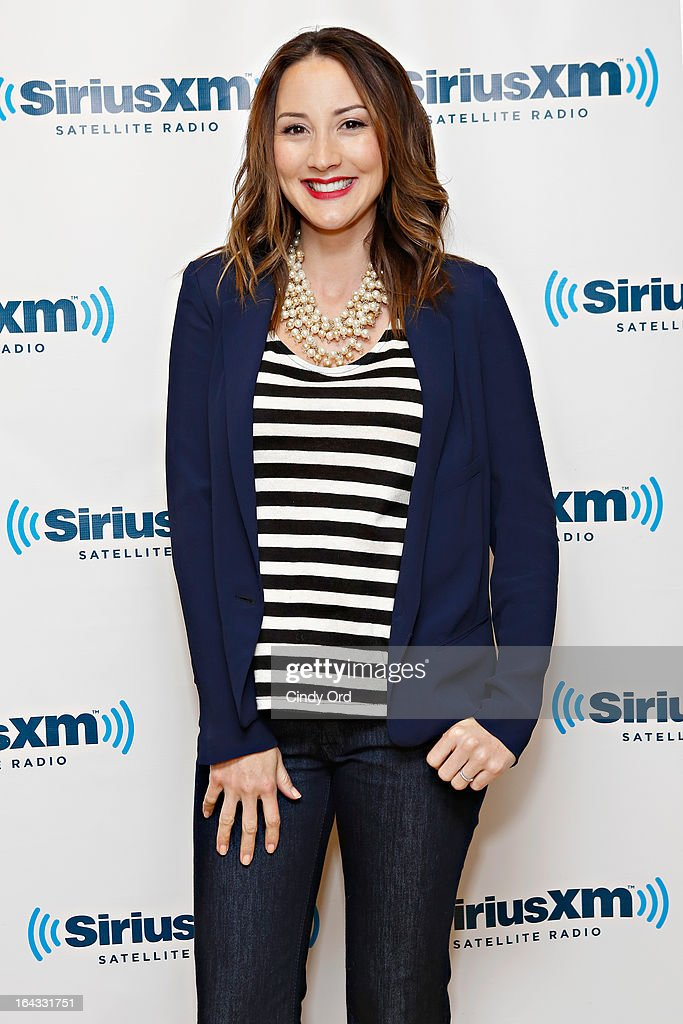 Actress Bree Turner visits the SiriusXM Studios on March 22, 2013 in New York City.